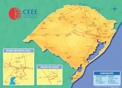 Mapa transmissão